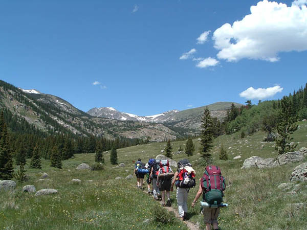 Hiking, Backpacking, and Snowshoeing
