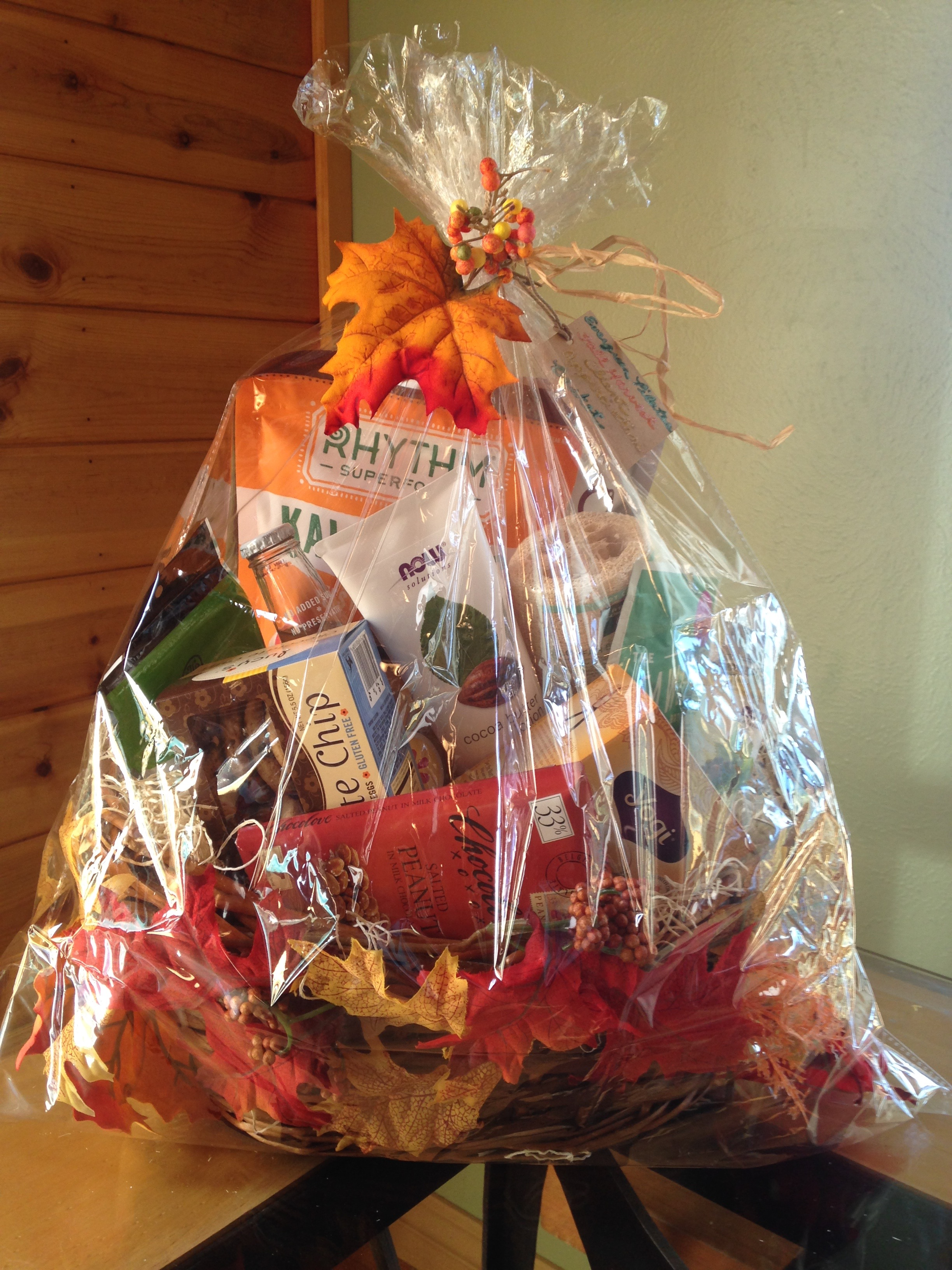 Fall Harvest Client Appreciation Basket